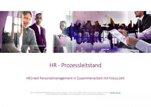 Präsentation HR-Prozessleitstand