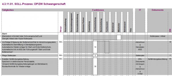 4.3.11.01. DP/ZW Schwangerschaft BPM