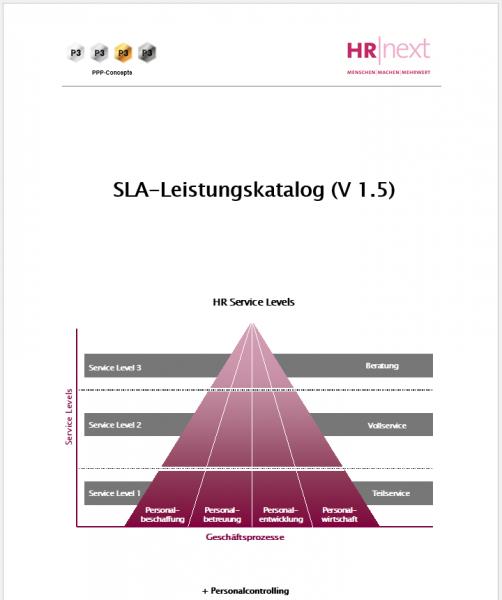 Service Level Leistungskatalog