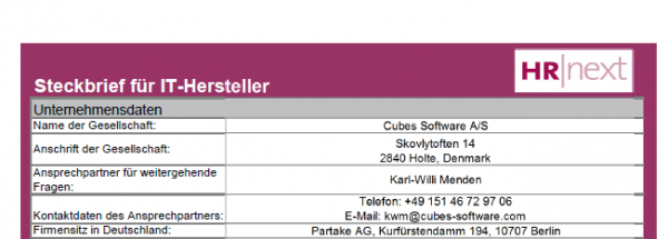 Cubes Software