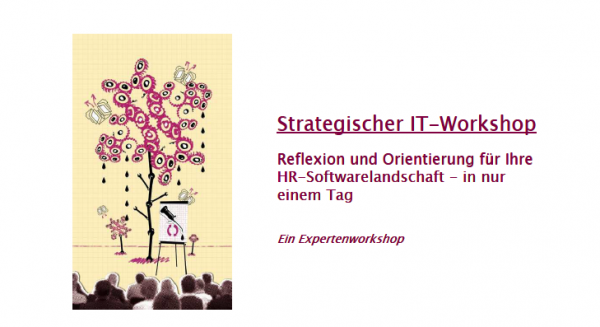 NEU: 1-Tages-HRIT-Workshop