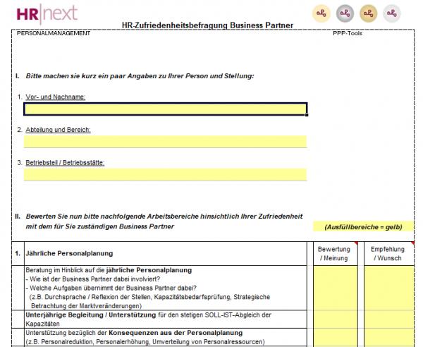 HR-Business-Partner-Kundenzufriedenheitsbefragung