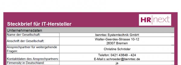 benntec Systemtechnik GmbH