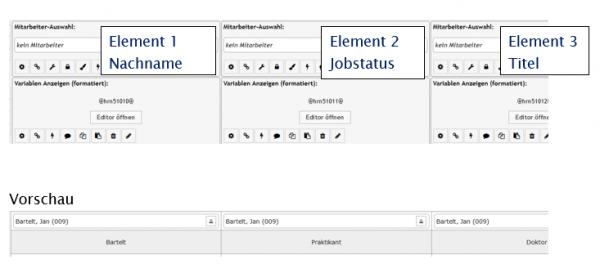 PLS Mitarbeiterdaten auslesen aus Stammdaten und erweiterten Stammdaten